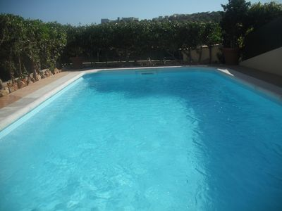 Photo for Villa with private pool and free WiFi near the center and the beach