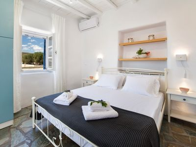 Photo for A modern house nearby the beach of Ambelas