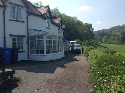 Bloom Cottage with ample offroad parking and surrounded by beautiful countryside