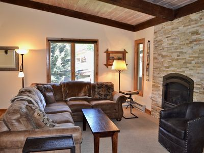 Photo for Remodeled 3 Bedroom West Vail Townhome #C1 w/ Carport