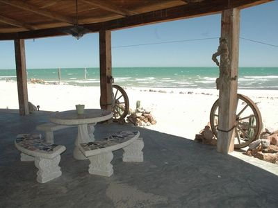 Photo for Beachfront Vacation House FULL AC throughout 50% OFF In low season