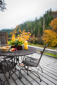 Fall on the deck
