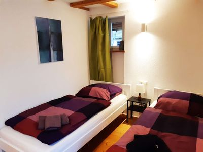 Photo for BW14 friendly 2 room apartment in Kirchheim-Naben with terrace and private parking