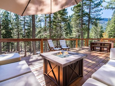 Photo for Connect with Nature in Our Peaceful South Lake Tahoe Cabin with Large Deck