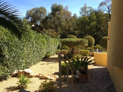 Photo for luxury Villa La Nucia with beautiful garden and private pool and several terraces.
