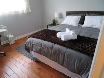 Photo for ★★★★★ Spacious Room 1♚Qn-Bed✚Shared Ensuite-Beryl