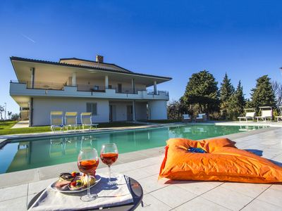 Photo for Luxurious Villa inTavullia with Private Swimming Pool