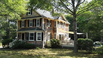 Photo for Newly Renovated 3-bedroom House in Quaint Cotuit Village