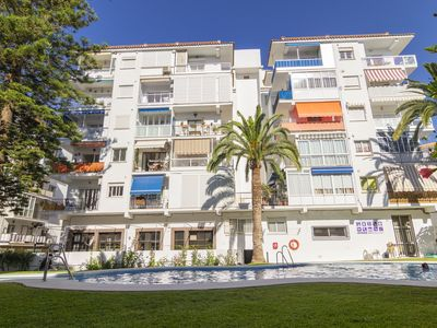 Photo for Charming apt. with shared pool in Nerja w / AirCon