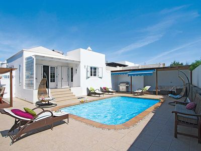 Photo for Fantastic villa in popular resort w/ aircon, games console and heated pool