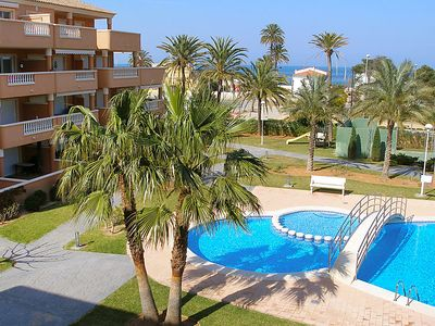 Photo for Apartment Res Poseidon 65  in Dénia, Costa Blanca - 4 persons, 2 bedrooms