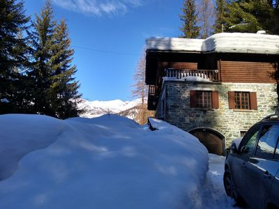 Photo for 6BR Villa Vacation Rental in Champoluc, Valle d'Aosta