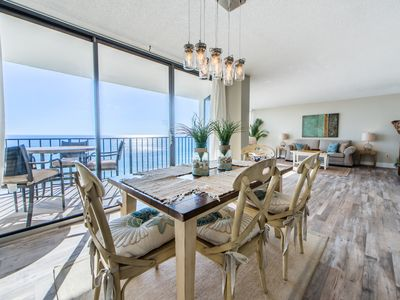 Photo for Edgewater 611 Tower 2-2BR-☼Aug 5 to 8 $1077 Total!☼ Gulf Views! Recent Remodel!