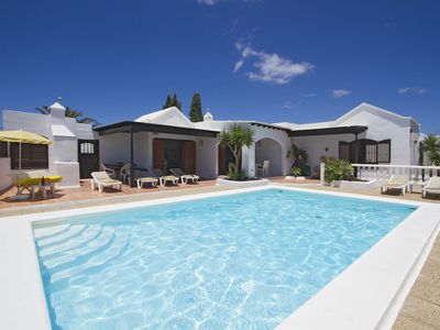 Photo for Luxury Modern Detached Villa with Large Heated Pool - 3 Bedrooms - 2 Bathrooms