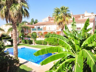Photo for Casa vista al jardin para 12 personas en Cambrils(67729)