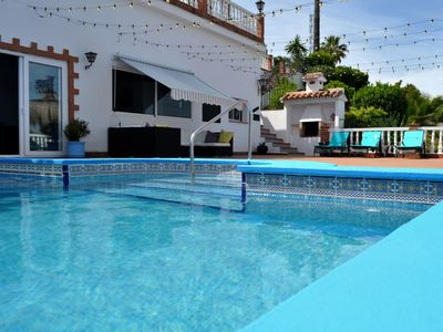 Photo for Modern luxury apartment /pool & hot tub/perfect for couples /relaxed setting