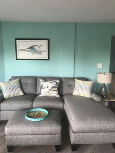 Living area with new sleeper sofa/sectional 2019