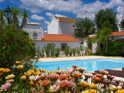 Photo for Castle, Swimming Pool, Stars, Olive Trees, Bikes, Winery Route, Relax, Evora