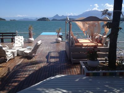 Photo for Wonderful Beachfront House in Angra Dos Reis.