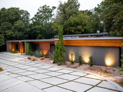 Photo for As seen on Fixer Upper - Stay in The Fabulous Waco Mid Century Modern Home!