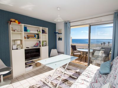 Photo for 1BR Apartment Vacation Rental in Canet-en-Roussillon, Pirineos Orientales