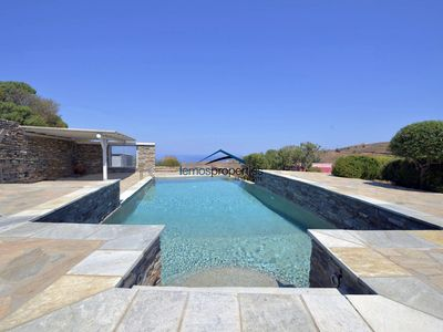Photo for Sunny villa with a sea view, beautiful garden and a large swimming pool