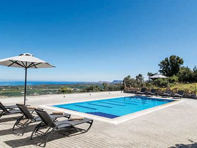Photo for 4 bedrooms, 3 bathrooms, great countryside and seas views, w/ Private Pool, WiFi and AC.