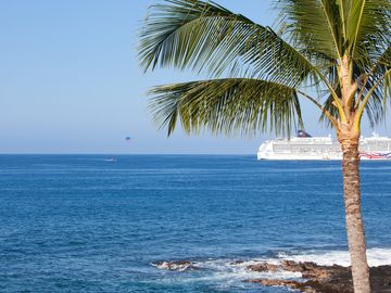 Stunning Ocean Front Home - Hale Moana Kona. Close To Town.  starts at $549 / nt