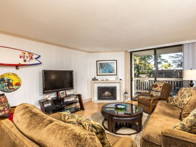 Photo for Remodel Underway, Affordable Two-bedroom Condo in Oceanfront Complex!