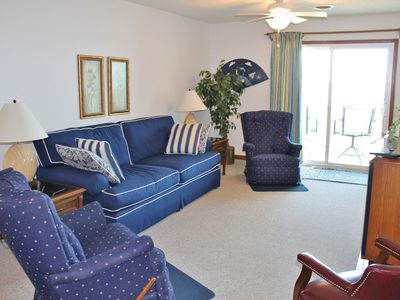 Photo for Spacious 2bd, 2ba 2nd Row Condo in Beautiful Cherry Grove, Wonderful View