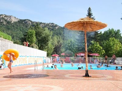 Photo for Camping Les Fauvettes *** - Bungalow Tithome 4 Rooms 6 People