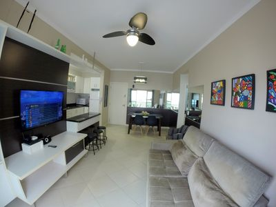 Photo for 2 BEDROOMS / 2 BATHROOMS / WI-FI / CABLE TV / GARAGE / 50m BEACH / 30m SHOPS-CENTRAL