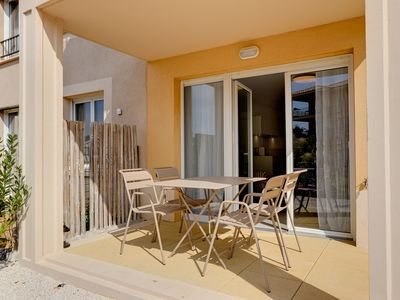 Photo for Le Petit Valmer, New apartment with terrace