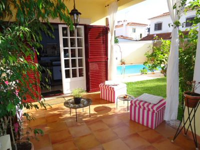 Photo for Beautiful semi detached villa with private swimming pool