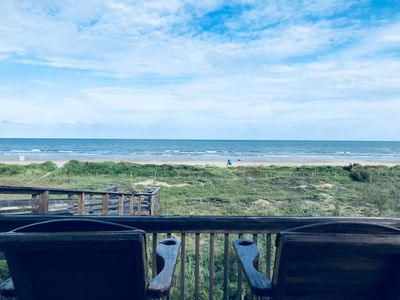 Photo for Beach Front Family Home with Private Walk-Over