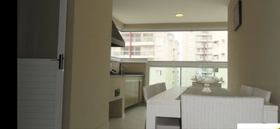 Photo for New apartment Guaruja, a block from the beach Pitangueiras