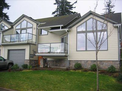 Photo for Striking Hi-End Seaside Vacation Sleeps 6 -  Bowser Qualicum