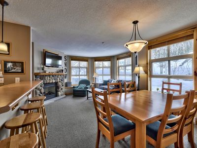 Photo for Multi level 4 bedroom condo with ground floor entrance and easy access to ski trails