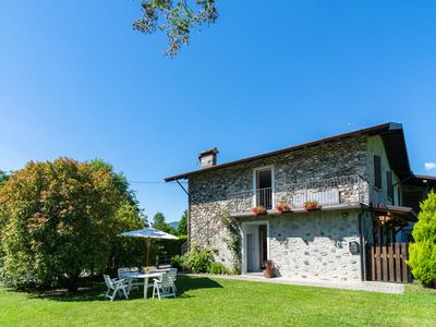 Photo for Peaceful Apartment in Grovedona Italy near Lake