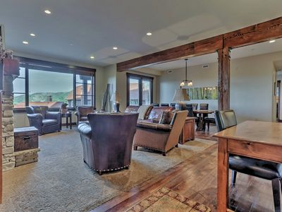Photo for Ski-in Ski-out Silver Star Community. Private hot tub and club house amenities