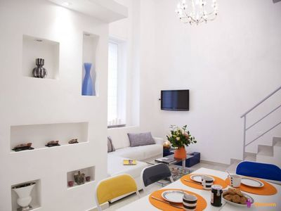 Photo for LOFT'NB Urbano apartment in Centro Storico with WiFi, air conditioning & balcony.