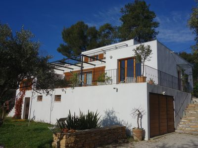 Photo for Contemporary house sea view in quiet residential area.