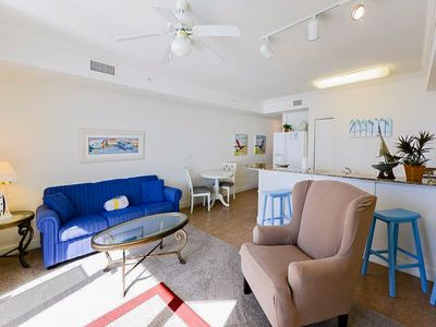 Photo for Gulf-front 16th-floor condo w/ on-site pools, hot tubs & seasonal beach service!
