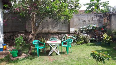 Photo for small green oasis in Kampala, Uganda