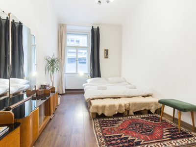Photo for Spacious Vintage Apartment in Coolest Hipster District by easyBNB