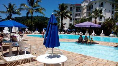 Photo for Wembley Condominium High Standard Tennis - 100mts from Toninhas Beach