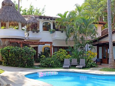 Photo for North Sayulita 3 Bedroom Beachside With Pool, AC