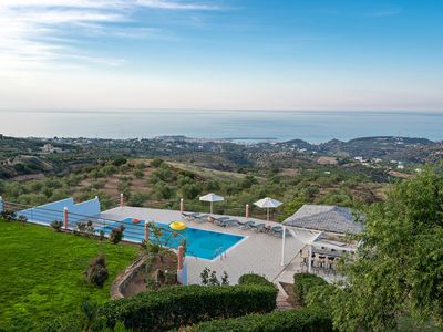 Photo for Halepa Hill! Superb 4 bedroom villa, with amazing views & pool!