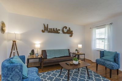 New Cozy 2bd Nashville Home Close To Restaurants Barclay Drive