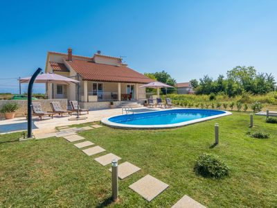 Photo for 3 bedroom Villa, sleeps 8 in Krstovići with Pool, Air Con and WiFi